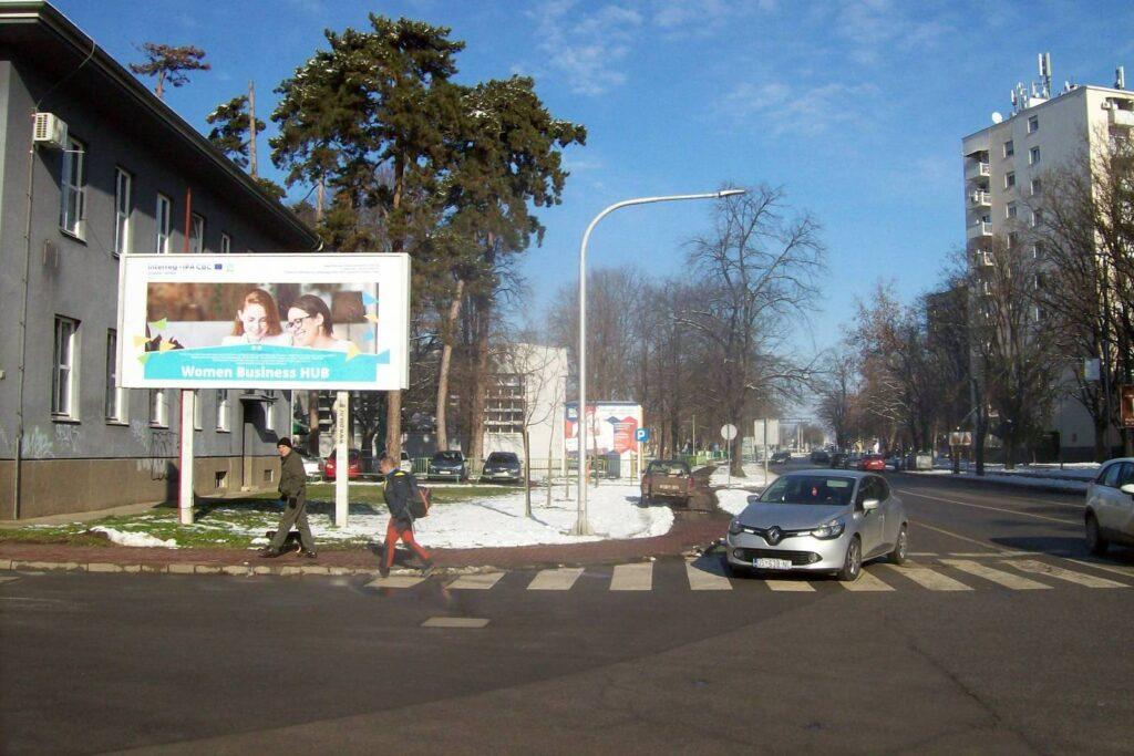 Poduzetničko-razvojni centar općine Erdut lokalna razvojna agencija d.o.o predstavio se u gradu Osijeku putem billboarda, koji se nalazi u ulici Kneza Trpimira